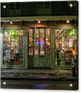 Window Shopping, French Quarter, New Orleans Acrylic Print