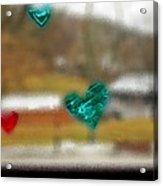 Window Stickers Acrylic Print