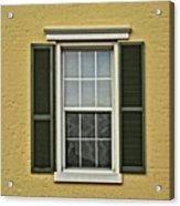 Window Style Acrylic Print