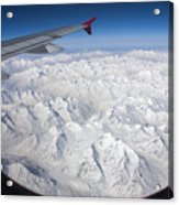 Window To Himalaya Acrylic Print