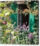 Window To Monet Acrylic Print