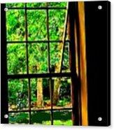 Window To My World Acrylic Print