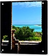 Window To Paradise Acrylic Print