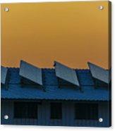 window to Solar power Acrylic Print
