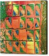 Window To The Garden Acrylic Print