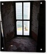 Window To The Sea Acrylic Print
