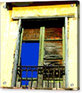 Window To The Sky By Michael Fitzpatrick Acrylic Print by Mexicolors Art Photography
