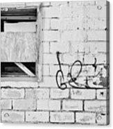 Windows And Tags Acrylic Print