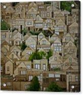 Windows Of Bernal Heights Acrylic Print