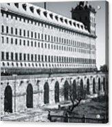 Windows Of El Escorial Spain Acrylic Print
