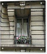 Windows Of Paris Acrylic Print