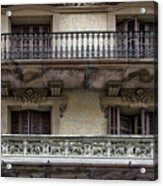 Windows Over Barcelona Acrylic Print