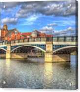 Windsor Bridge River Thames Acrylic Print