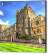 Windsor Castle Architecture Acrylic Print