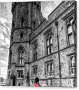 Windsor Castle Coldstream Guard Acrylic Print