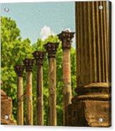 Windsor Ruins Acrylic Print