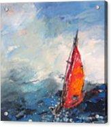 Windsurf Impression 04 Acrylic Print
