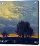Windswept Sky Acrylic Print