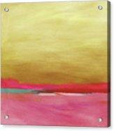 Windswept Sunrise- Art By Linda Woods Acrylic Print