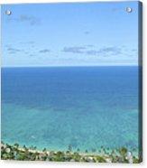 Windward Oahu Panorama II Acrylic Print