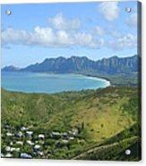Windward Oahu Panorama IIi Acrylic Print