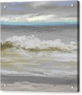 Windy Hill Beach - Myrtle Beach, Sc Acrylic Print