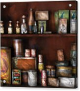 Wine - Rum And Tobacco Acrylic Print by Mike Savad