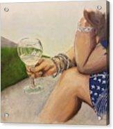 Wine And Bracelets Acrylic Print