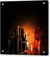 Wine And Leisure Acrylic Print by Lourry Legarde