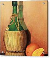 Wine And Oranges Acrylic Print