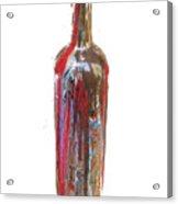 Wine Bottle One Acrylic Print