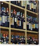 Wine Closet Acrylic Print