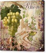 Wine Country Rhone Acrylic Print