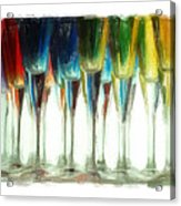 Wine Flutes Acrylic Print