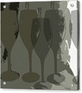 Wine Glass Abstract Acrylic Print
