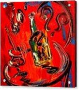 Wine Jazz Acrylic Print