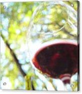 Wine On The Farm Acrylic Print
