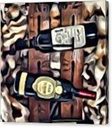 Wine Rack Acrylic Print