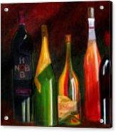 Colors Of Wine Acrylic Print