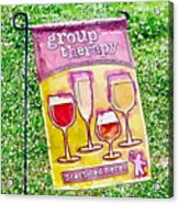 Wine Sign Acrylic Print
