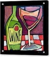Wine Squared Acrylic Print