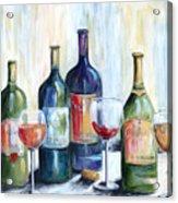 Wine Time Acrylic Print