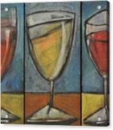 Wine Trio - Option One Acrylic Print