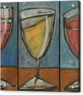 Wine Trio Option 2 Acrylic Print by Tim Nyberg