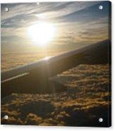 Winged Sun Acrylic Print