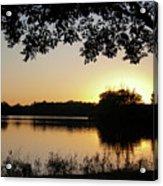Wingfoot Sunset Acrylic Print