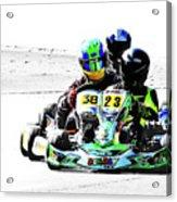 Wingham Go Karts 09 Acrylic Print