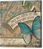 Wings Of Hope Acrylic Print by Debbie DeWitt