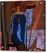 Winking Cowboy Acrylic Print