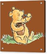 Winnie The Pooh T-shirt Acrylic Print